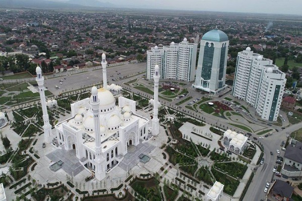 Photo of Europe's Largest Mosque Launched in Chechnya