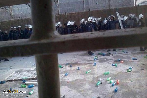 Photo of Bahraini detainees beaten at Jaw Prison over mass hunger strike