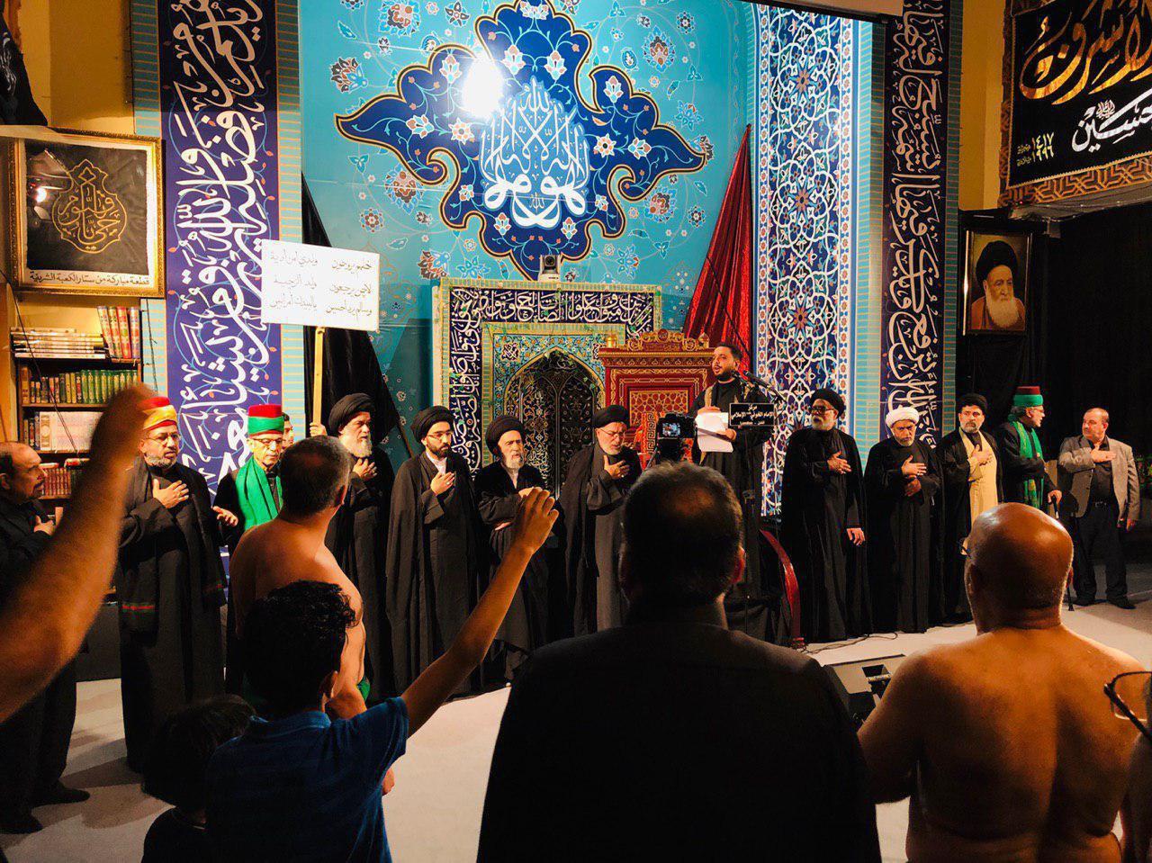 Photo of Delegation of Husseiniya Rasool al-Adham participates in mourning ceremony at Husseiniya Imam Al-Khoei in London