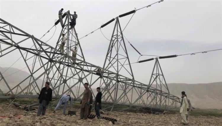 Photo of One-third of Afghanistan is cut off after electricity towers were destroyed in attacks