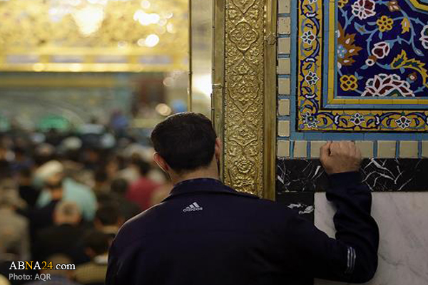 Photo of Portuguese young man converts to Islam at Imam Redha Holy Shrine