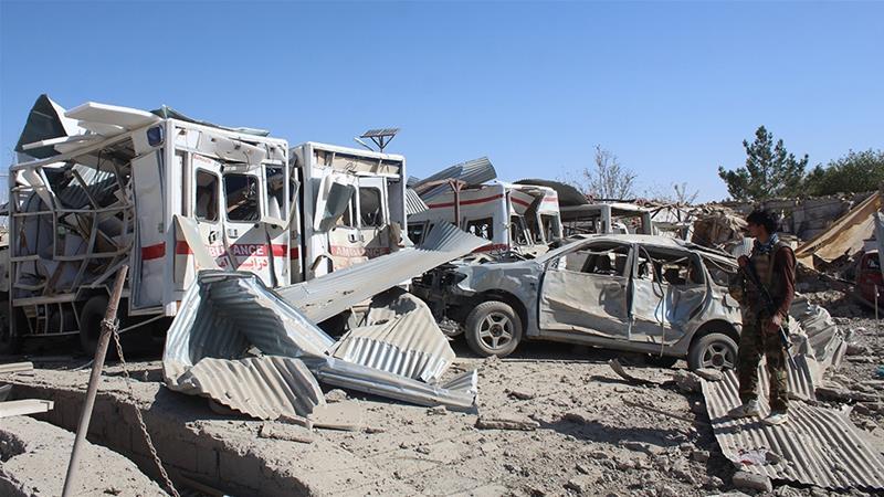 Photo of Taliban car bomb hits hospital in Afghan province of Zabul