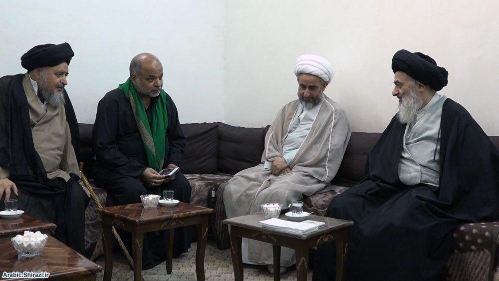 Photo of Grand Ayatollah Shirazi calls to utilizing life in good deeds and serving Imam Hussein