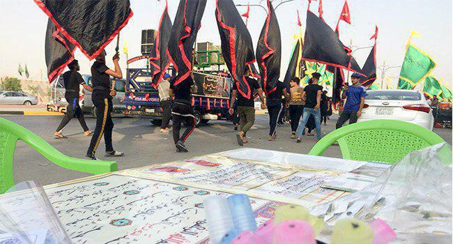 """Photo of Basra launches """"Quran Break"""" for pilgrims of Imam Hussein"""