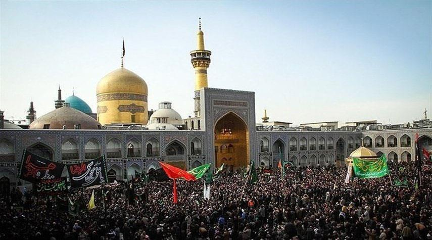 Photo of Millions commemorate martyrdom anniversary of Imam Redha in the holy city of Mashhad