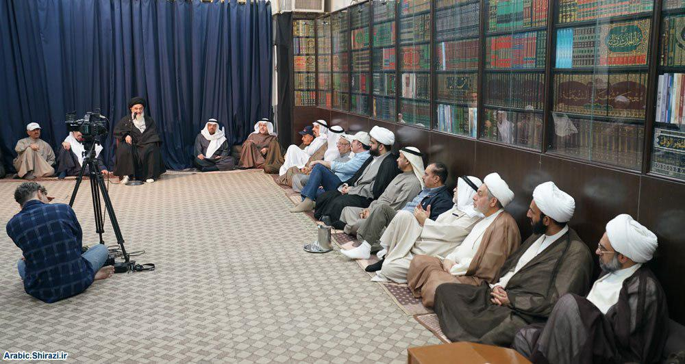 Photo of Grand Ayatollah Shirazi calls on governments to learn forgiveness and better response from the Holy Prophet