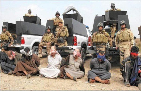 Photo of Ten ISIS militants arrested in Mosul