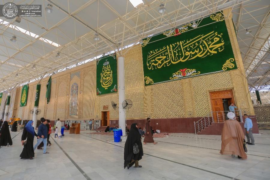 Photo of Imam Ali Holy Shrine decorated ahead of birth anniversary of Prophet Muhammad