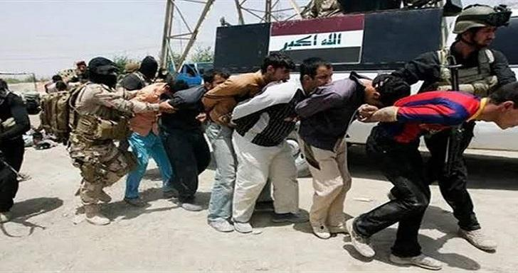 Photo of Six terrorists arrested in Diyala, eastern Iraq
