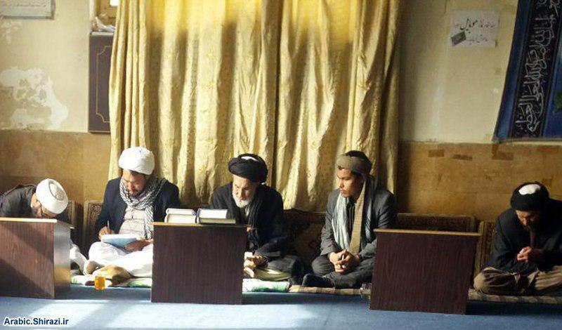 Photo of Religious and social figures meet director of the Shirazi office in Kabul