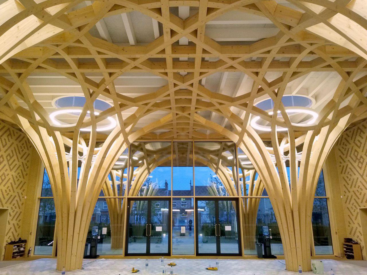 Photo of Europe's first eco-friendly mosque opens doors to visitors