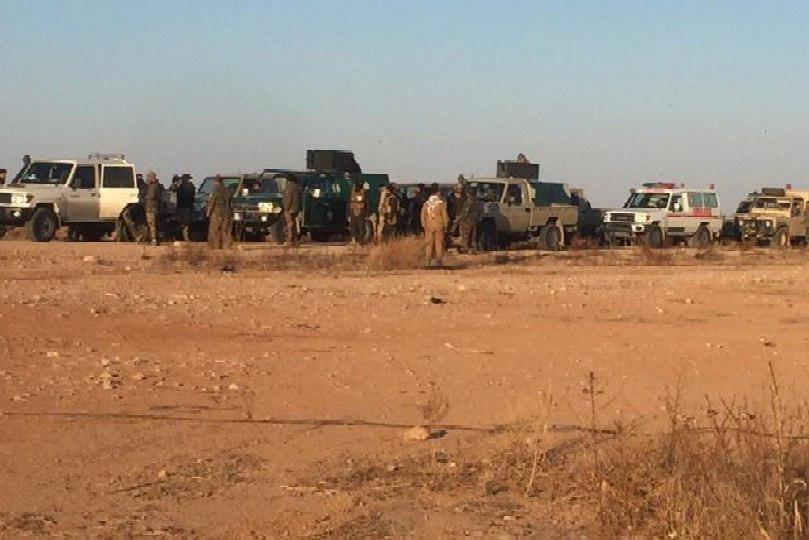 Photo of Major security operation in the western desert of the Iraqi province of Anbar
