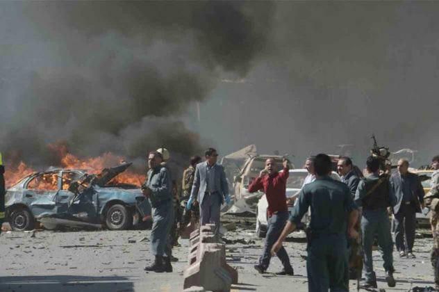 Photo of 10 civilians killed in an explosion in southern Afghanistan