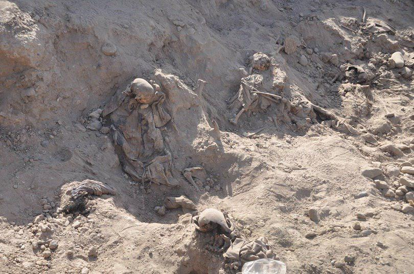Photo of Statistics on mass graves discovered during the current year in Iraq