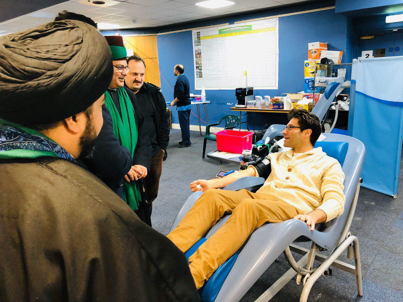 Photo of London hosts a blood donation campaign in the name of Imam Hussein to express peaceful coexistence