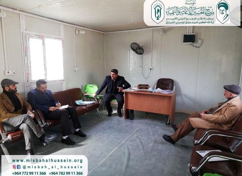 Photo of Misbah Al-Hussein Foundation delegation visits the Social Care Department for People with Disabilities and Special Needs of Karbala