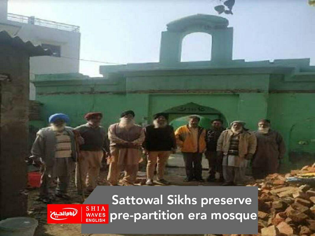 Photo of Sattowal Sikhs preserve pre-partition era mosque