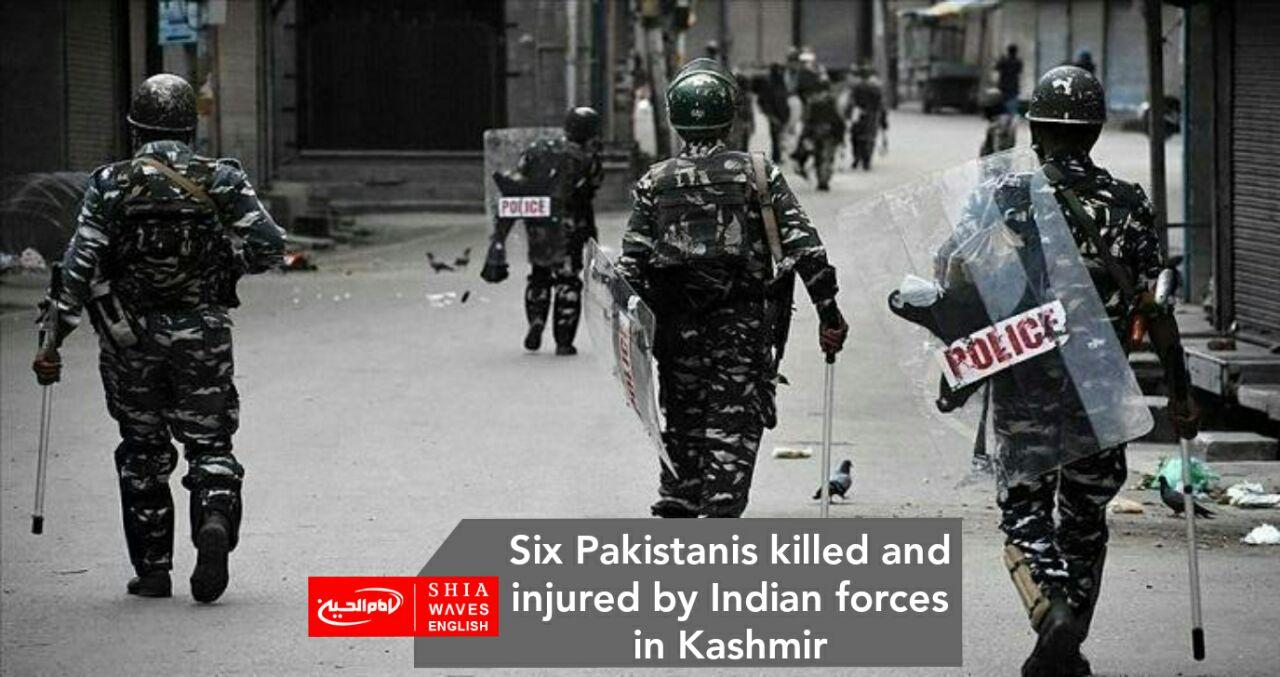 Photo of Six Pakistanis killed and injured by Indian forces in Kashmir
