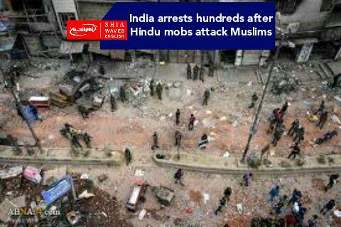 Photo of India arrests hundreds after Hindu mobs attack Muslims