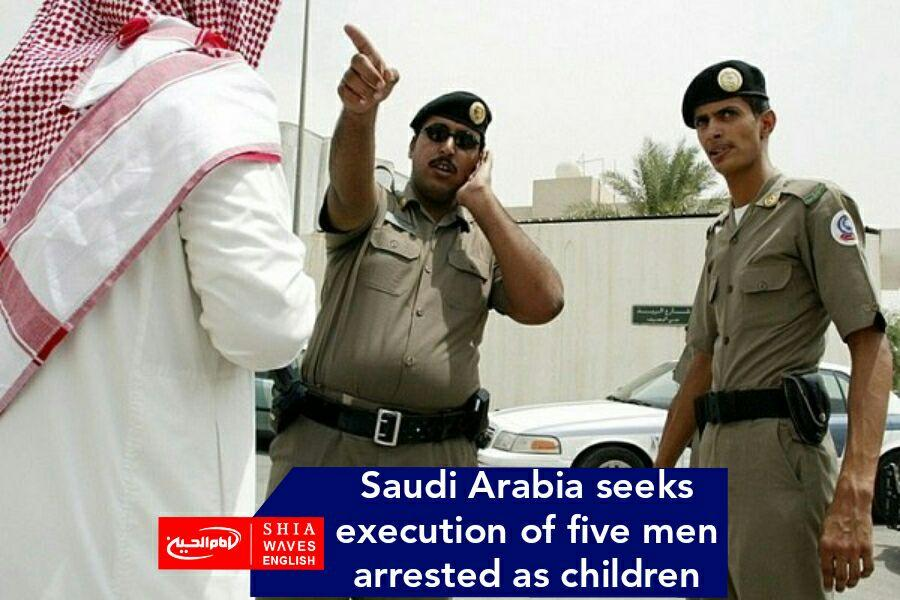 Photo of Saudi Arabia seeks execution of five men arrested as children