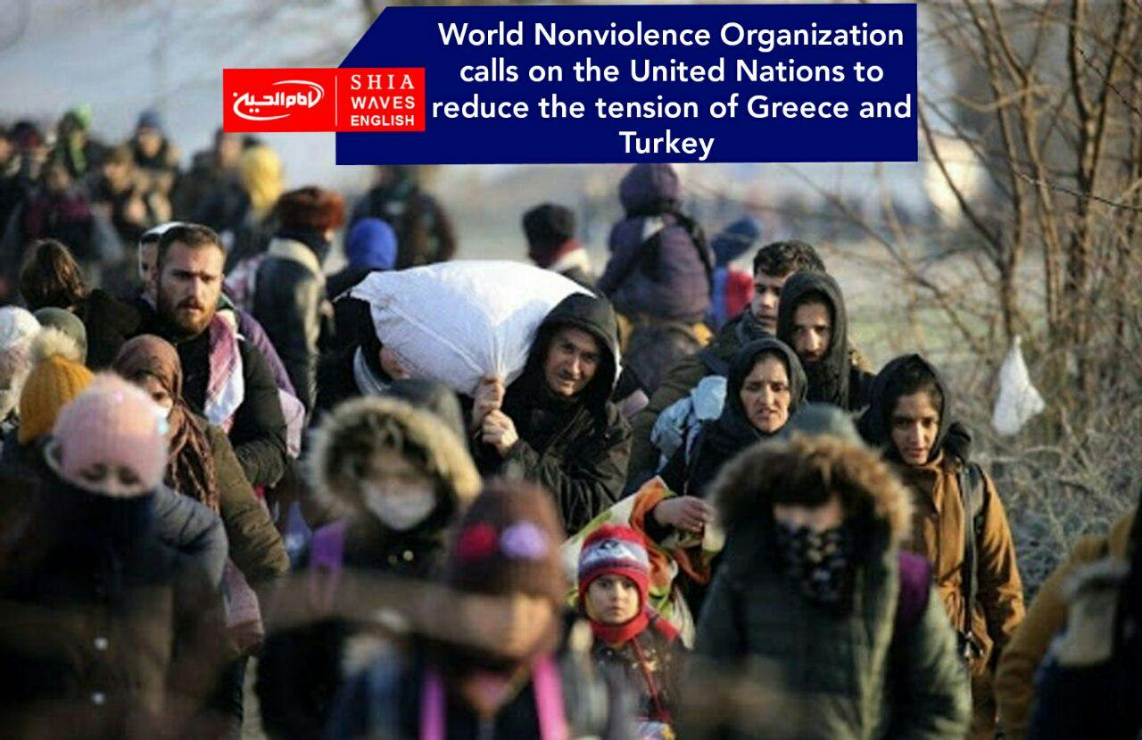 Photo of World Nonviolence Organization calls on the United Nations to reduce the tension of Greece and Turkey