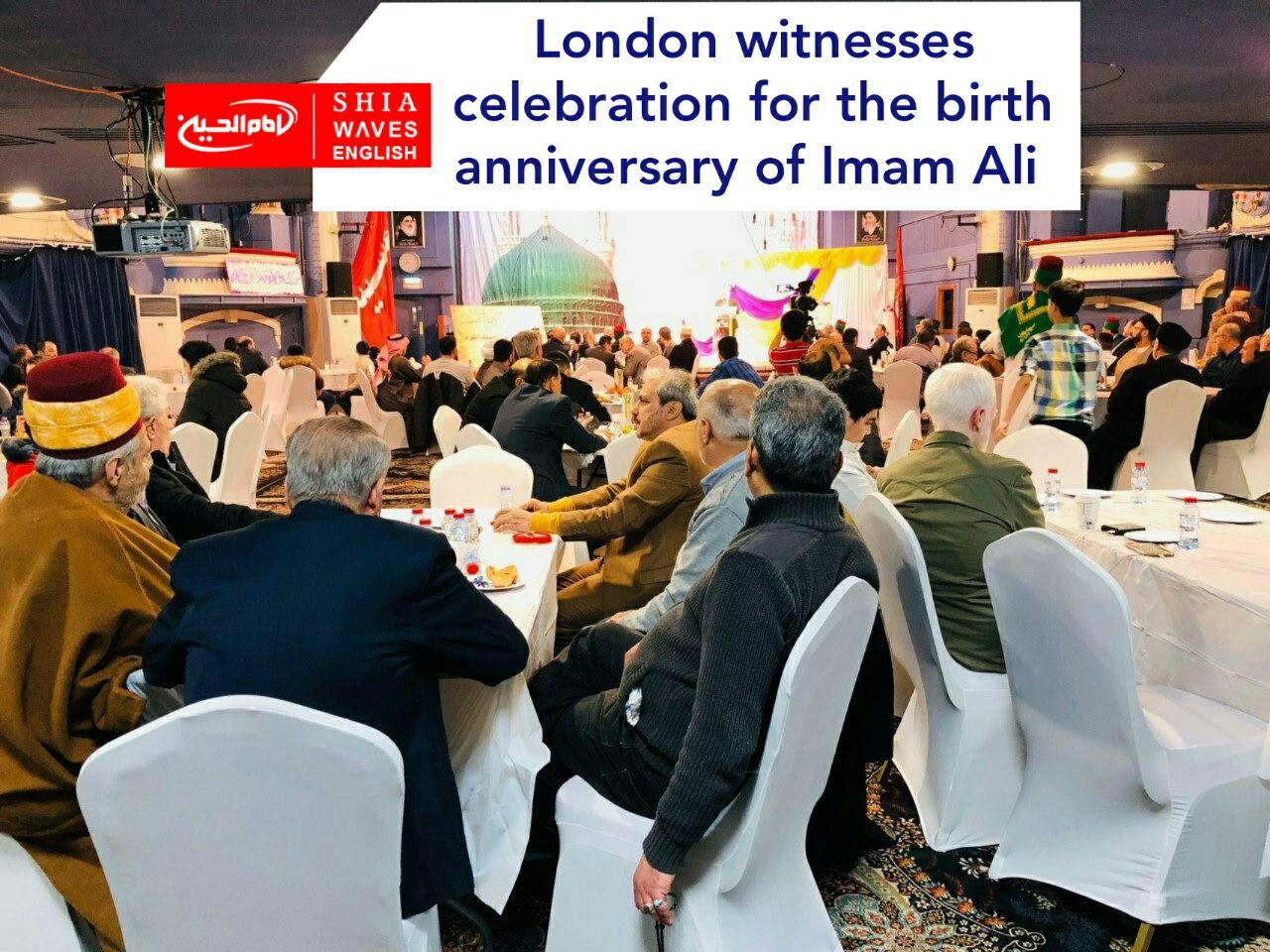 Photo of London witnesses celebration for the birth anniversary of Imam Ali