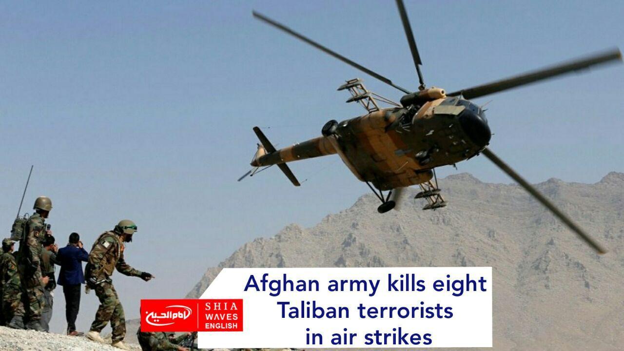 Photo of Afghan army kills eight Taliban terrorists in air strikes