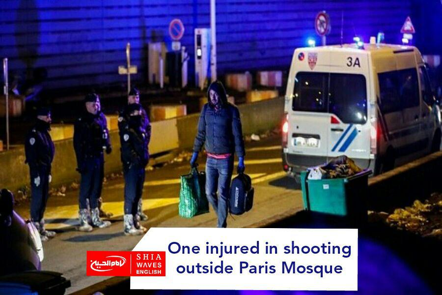 Photo of One injured in shooting outside Paris Mosque