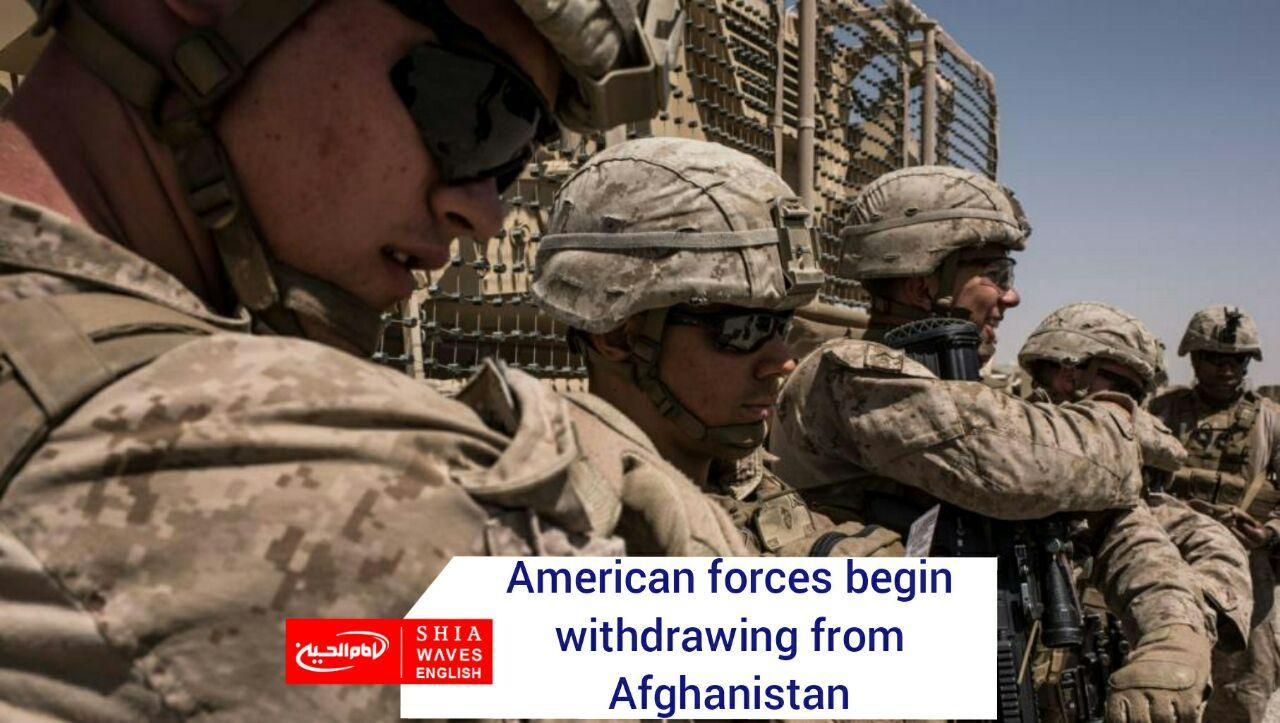 Photo of American forces begin withdrawing from Afghanistan