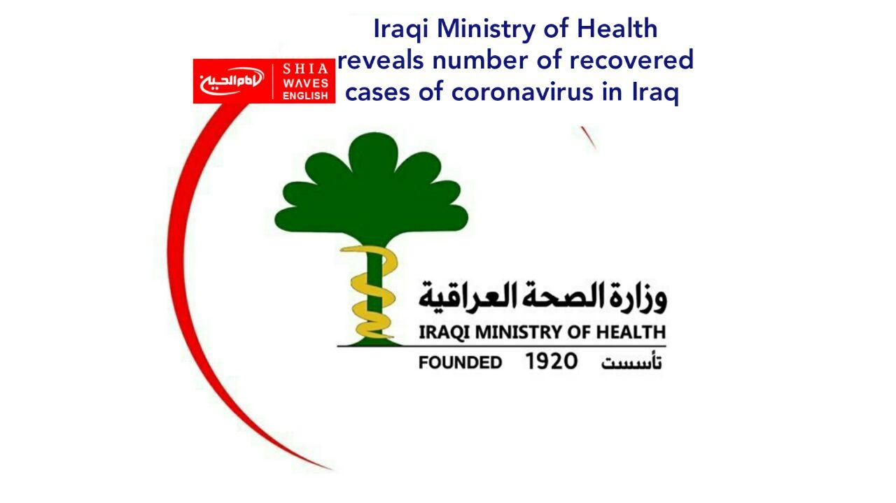 Photo of Iraqi Ministry of Health reveals number of recovered cases of coronavirus in Iraq