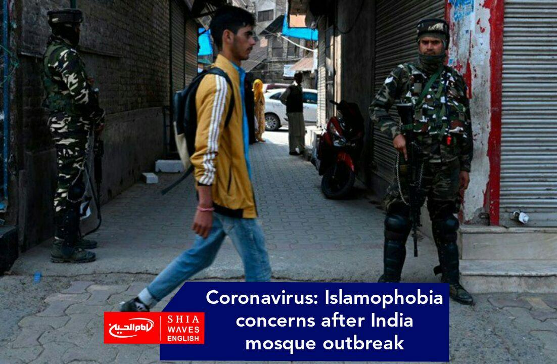 Photo of Coronavirus: Islamophobia concerns after India mosque outbreak
