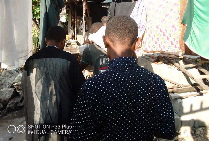 Photo of Ahlulbayt Center in Madagascar distributes food baskets to Shias in Mahajanga