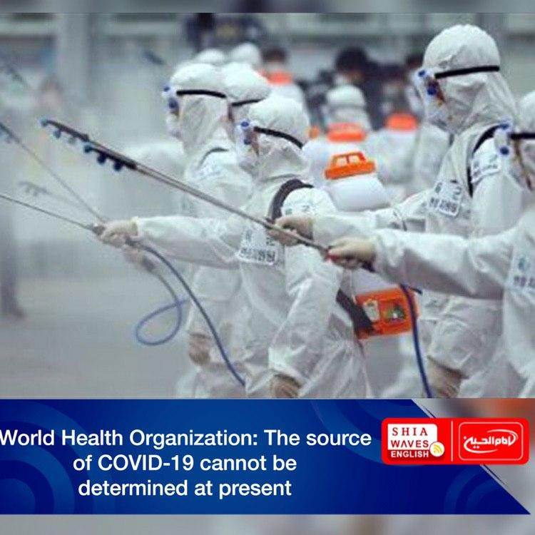 Photo of World Health Organization: The source of COVID-19 cannot be determined at present