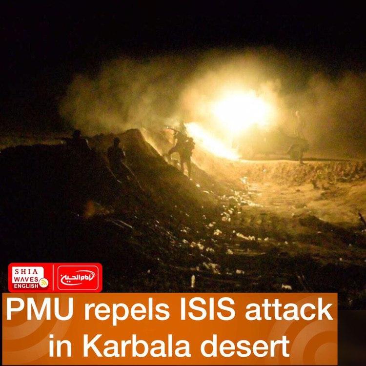 Photo of PMU repels ISIS attack in Karbala desert