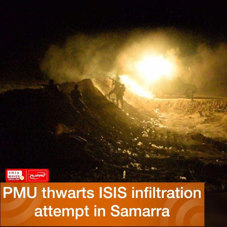 Photo of PMU thwarts ISIS infiltration attempt in Samarra
