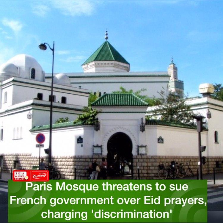 Photo of Paris Mosque threatens to sue French government over Eid prayers, charging 'discrimination'
