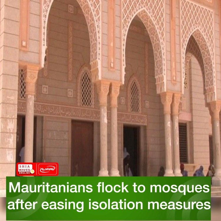 Photo of Mauritanians flock to mosques after easing isolation measures