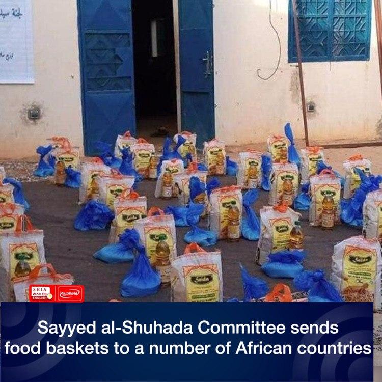Photo of Sayyed al-Shuhada Committee sends food baskets to a number of African countries