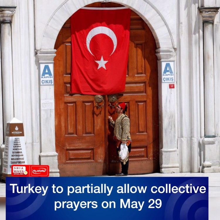 Photo of Turkey to partially allow collective prayers on May 29