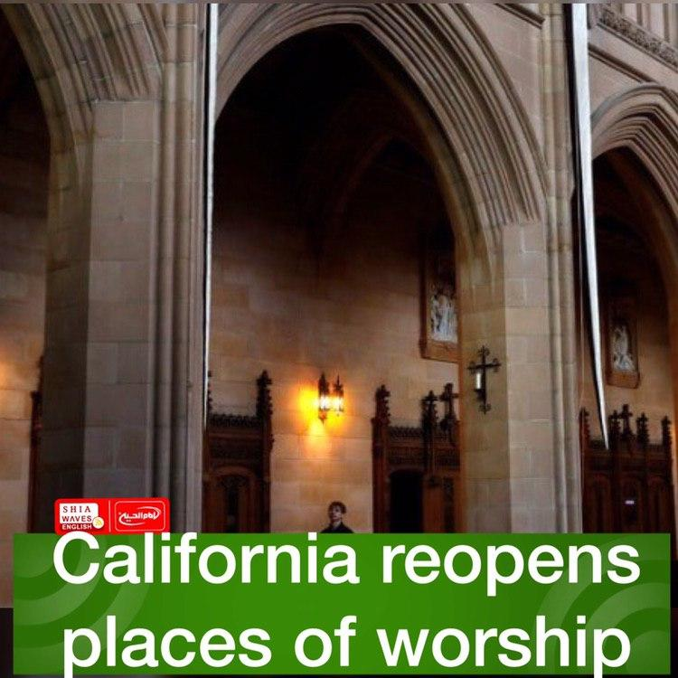 Photo of California reopens places of worship