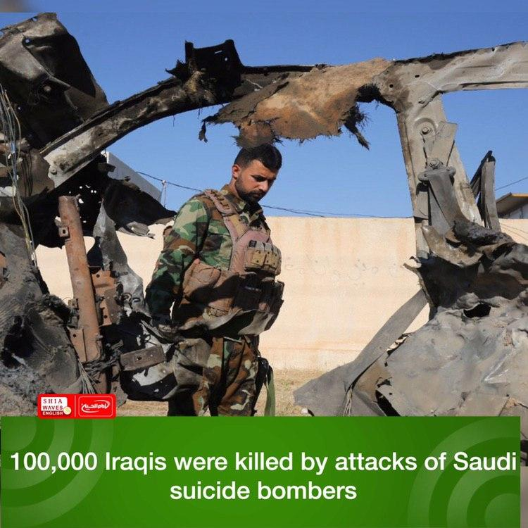 Photo of 100,000 Iraqis were killed by attacks of Saudi suicide bombers