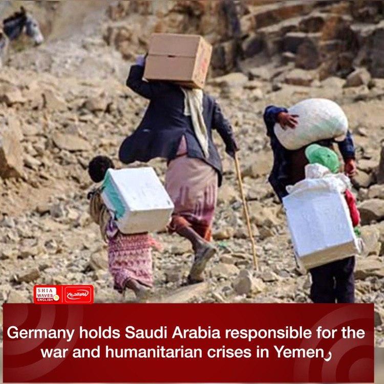 Photo of Germany holds Saudi Arabia responsible for the war and humanitarian crises in Yemen