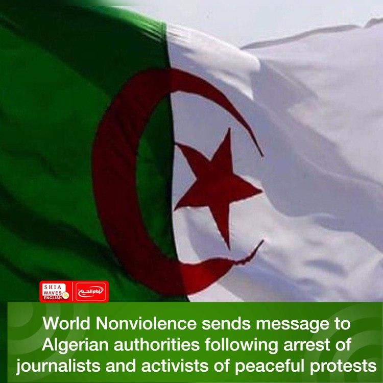 Photo of World Nonviolence sends message to Algerian authorities following arrest of journalists and activists of peaceful protests