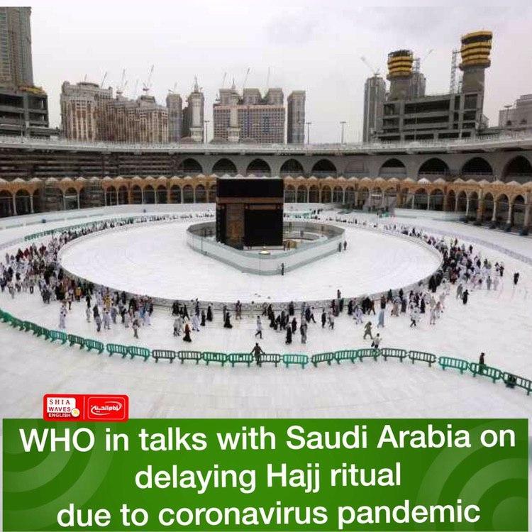 Photo of WHO in talks with Saudi Arabia on delaying Hajj ritual due to coronavirus pandemic