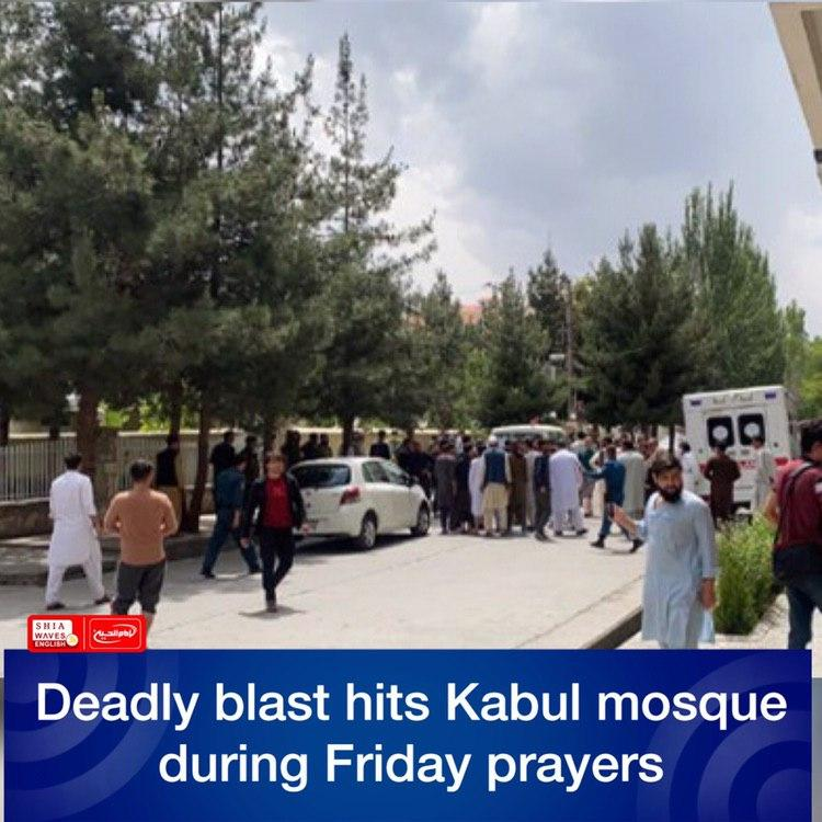Photo of Deadly blast hits Kabul mosque during Friday prayers