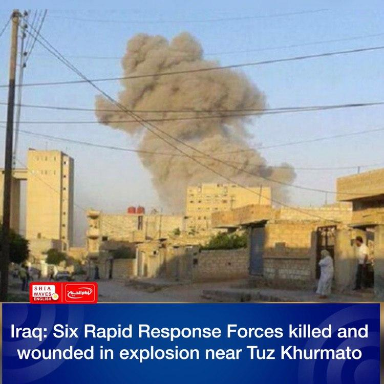Photo of Iraq: Six Rapid Response Forces killed and wounded in explosion near Tuz Khurmato