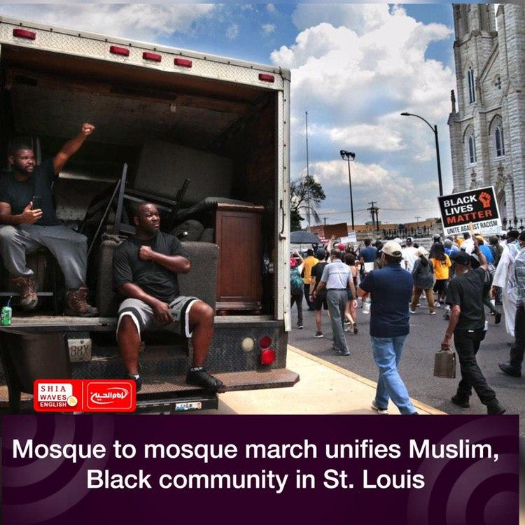 Photo of Mosque to mosque march unifies Muslim, Black community in St. Louis