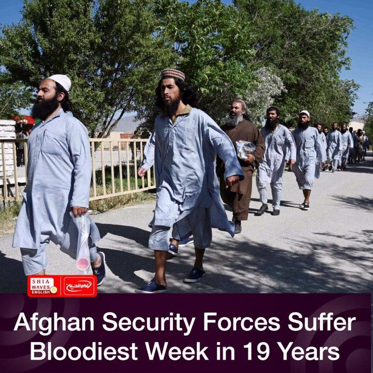 Photo of Afghan Security Forces Suffer Bloodiest Week in 19 Years