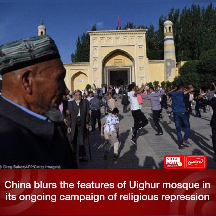 Photo of China blurs the features of Uighur mosque in its ongoing campaign of religious repression