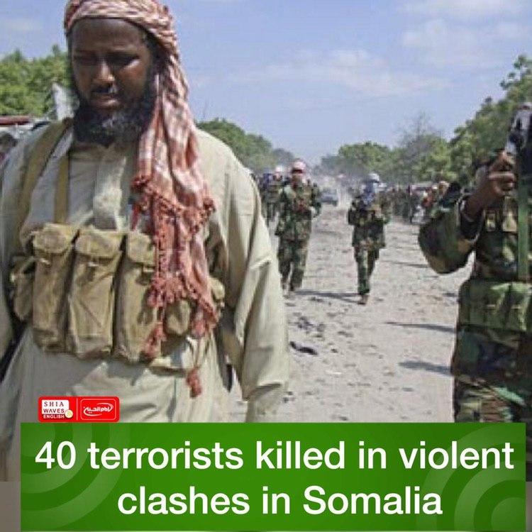 Photo of 40 terrorists killed in violent clashes in Somalia